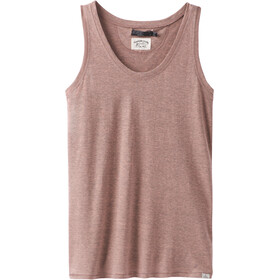 Prana Cozy Up Top sin Mangas Mujer, peach heather